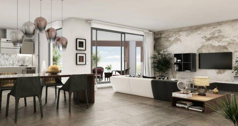 Achat / Vente immobilier neuf Montpellier au cœur d'un parc classé (34000) - Réf. 4890