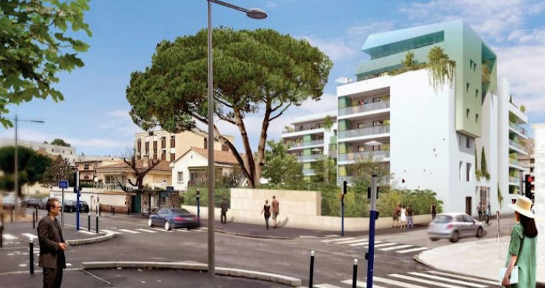 Achat / Vente immobilier neuf Montpellier au pied du tramway (34000) - Réf. 4716