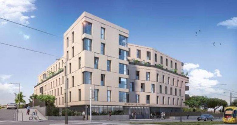 Achat / Vente immobilier neuf Montpellier au pied du tramway St-Martin (34000) - Réf. 4802