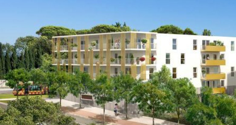 Achat / Vente immobilier neuf Montpellier, Boulevard Paul Valéry (34000) - Réf. 442