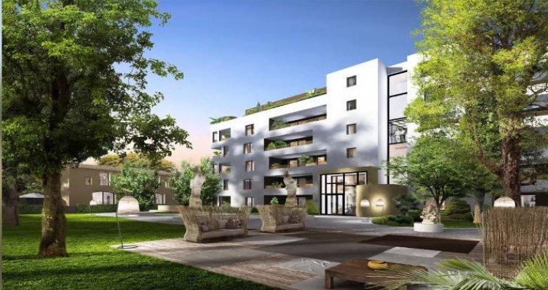 Achat / Vente immobilier neuf Montpellier cœur du quartier La Pompignane (34000) - Réf. 4590