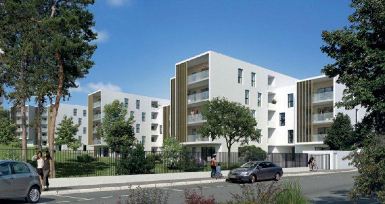 Achat / Vente immobilier neuf Montpellier, Croix Verte (34000) - Réf. 993