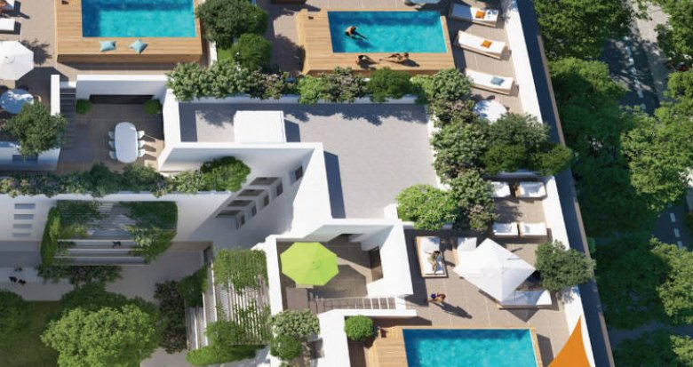 Achat / Vente immobilier neuf Montpellier - EAI- belles terrasses (34000) - Réf. 5076