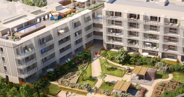 Achat / Vente immobilier neuf Montpellier éco-quartier Les Grisettes (34000) - Réf. 1215