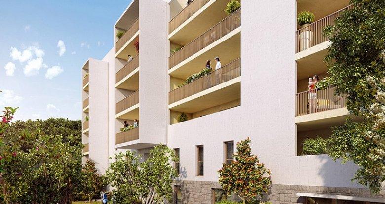 Achat / Vente immobilier neuf Montpellier écoquartier de la Restanque (34000) - Réf. 2663