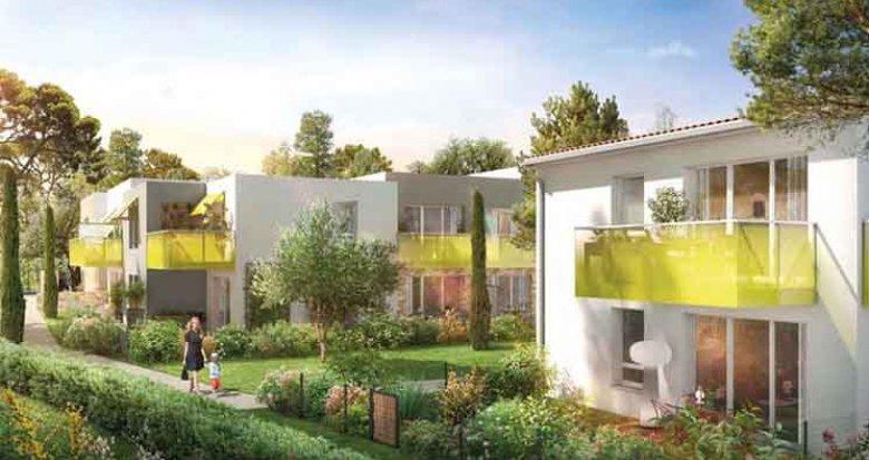 Achat / Vente immobilier neuf Montpellier oasis de la Marquerose (34000) - Réf. 2563