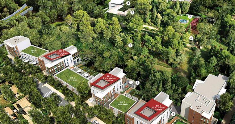 Achat / Vente immobilier neuf Montpellier Parc de la Feuillade (34000) - Réf. 740
