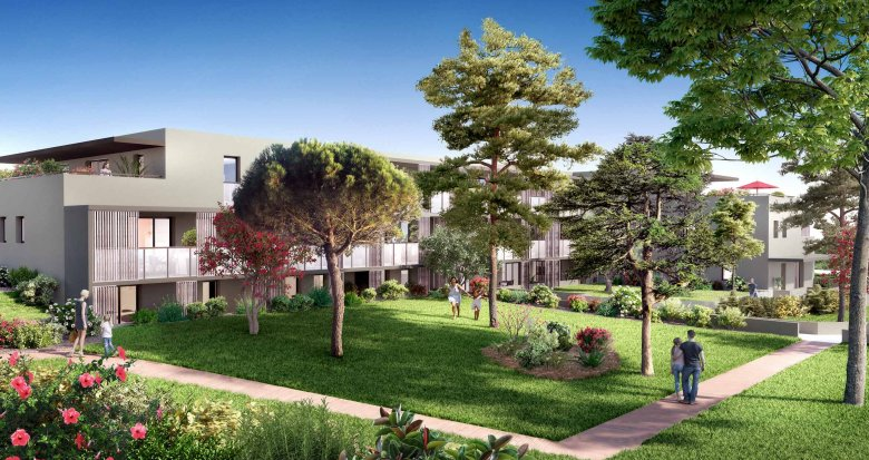 Achat / Vente immobilier neuf Montpellier proche du nouveau quartier des grisettes (34000) - Réf. 2089