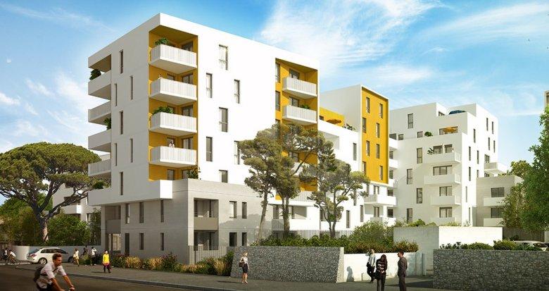 Achat / Vente immobilier neuf Montpellier proche Méditerranée (34000) - Réf. 1393