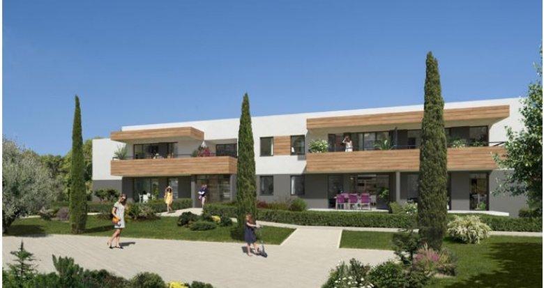 Achat / Vente immobilier neuf Montpellier proche Parc Croix d'Argent (34000) - Réf. 2306