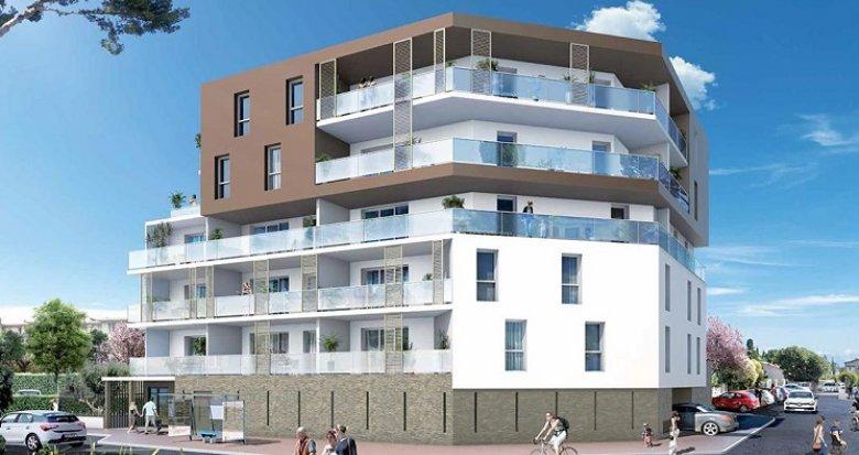 Achat / Vente immobilier neuf Montpellier proche parc de la Guirlande (34000) - Réf. 2064