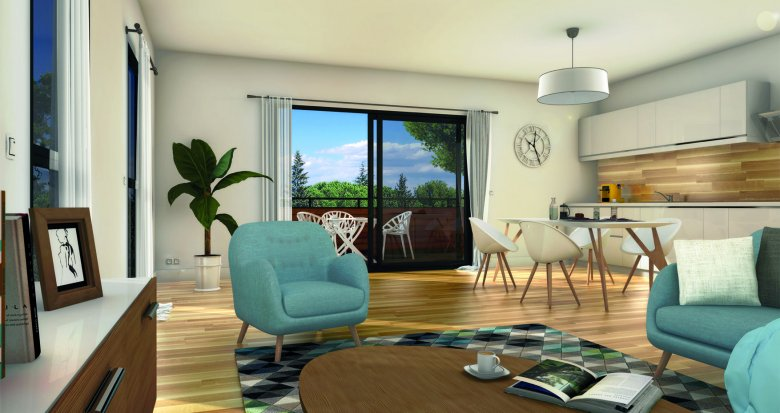 Achat / Vente immobilier neuf Montpellier proche universités quartier Boutonnet (34000) - Réf. 6238