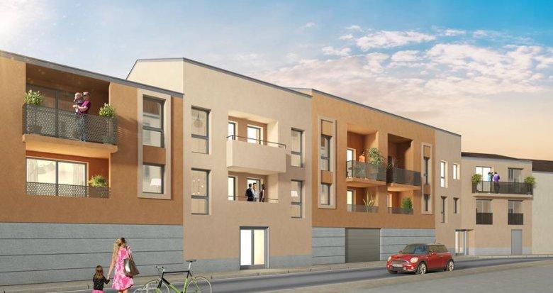 Achat / Vente immobilier neuf Montpellier quartier Clémenceau (34000) - Réf. 3718
