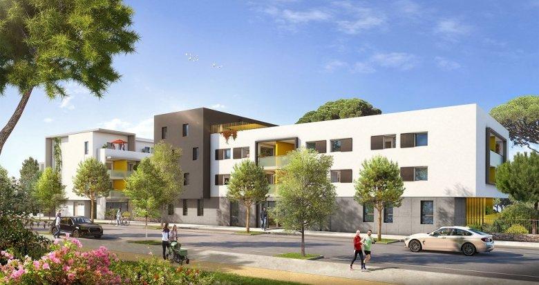 Achat / Vente immobilier neuf Montpellier quartier de l'Ovalie (34000) - Réf. 1810