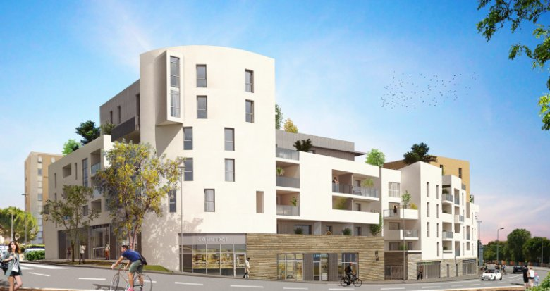 Achat / Vente immobilier neuf Montpellier quartier de La Pompignane (34000) - Réf. 5551