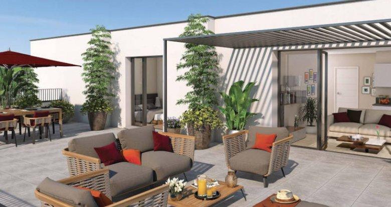 Achat / Vente immobilier neuf Montpellier quartier de la Restanque (34000) - Réf. 3736