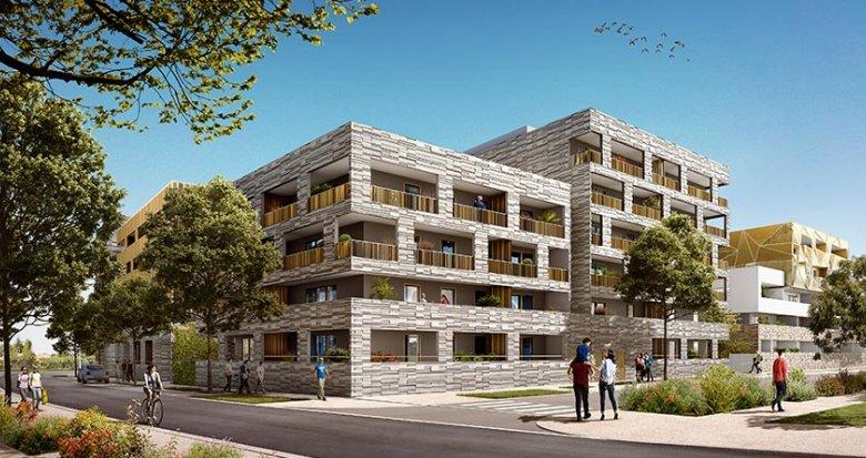 Achat / Vente immobilier neuf Montpellier quartier de Parc Marianne (34000) - Réf. 2813