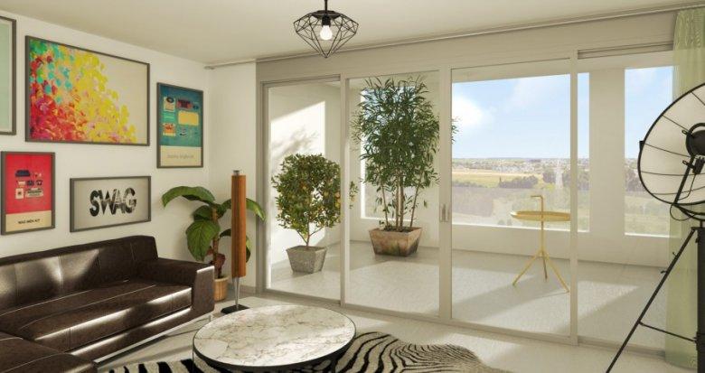 Achat / Vente immobilier neuf Montpellier quartier de Port Marianne (34000) - Réf. 320