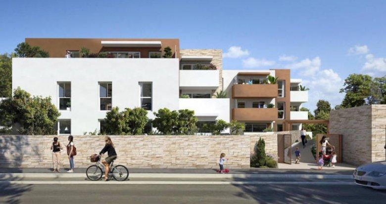 Achat / Vente immobilier neuf Montpellier quartier des Grèzes (34000) - Réf. 3816