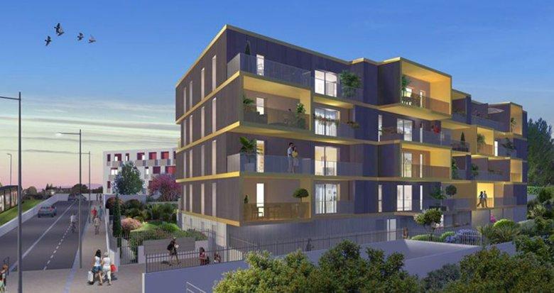 Achat / Vente immobilier neuf Montpellier quartier des Prés d'Arènes (34000) - Réf. 1651