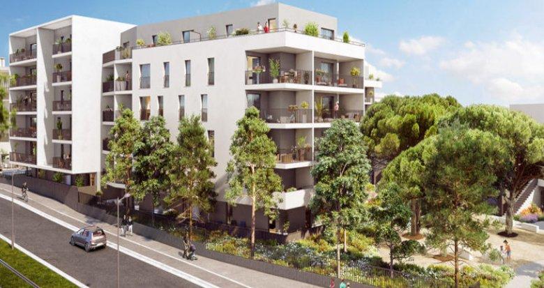 Achat / Vente immobilier neuf Montpellier Quartier des Prés d'Arènes (34000) - Réf. 2599