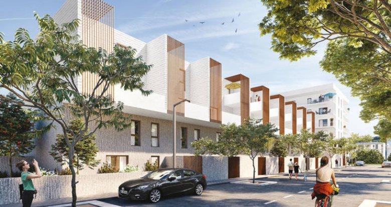 Achat / Vente immobilier neuf Montpellier quartier des Prés d'Arènes (34000) - Réf. 3719