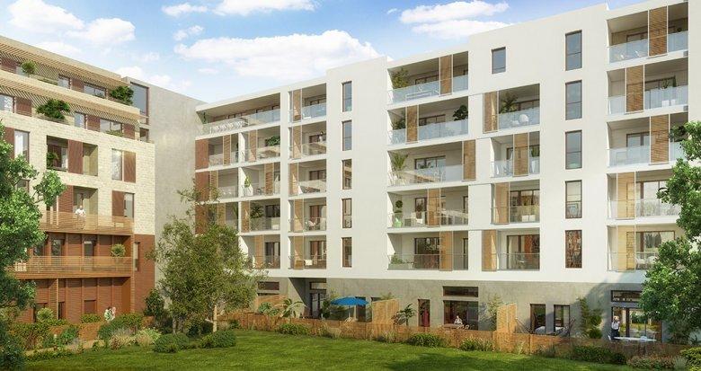 Achat / Vente immobilier neuf Montpellier quartier des Prés d'Arènes (34000) - Réf. 1394