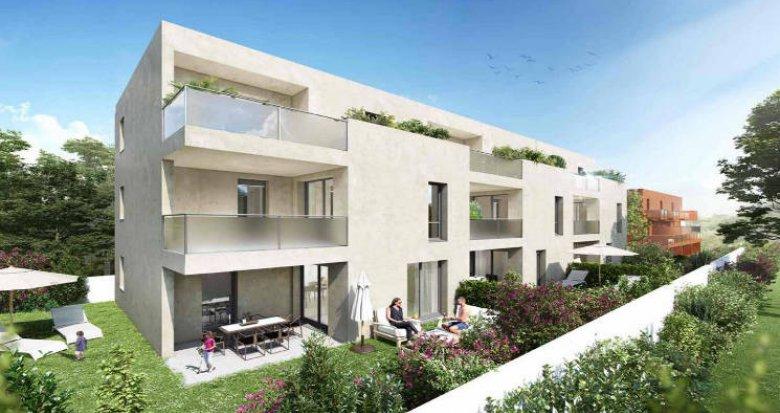 Achat / Vente immobilier neuf Montpellier quartier Hôpitaux-Faculté (34000) - Réf. 4346
