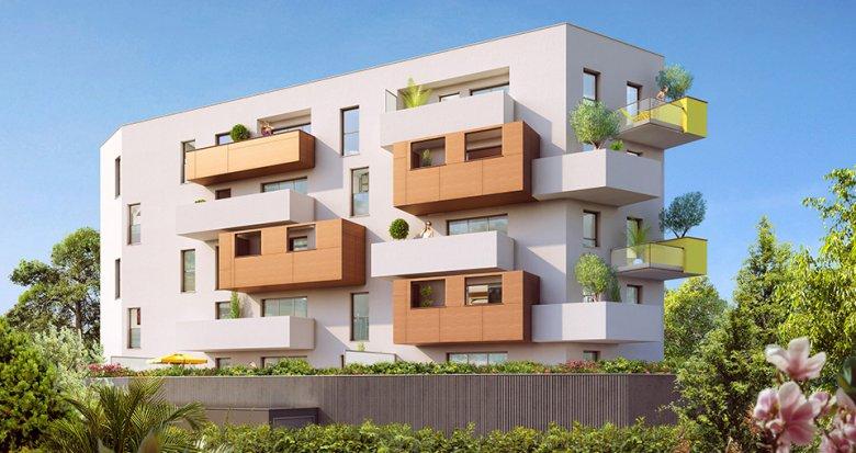 Achat / Vente immobilier neuf Montpellier quartier Lemasson (34000) - Réf. 1875