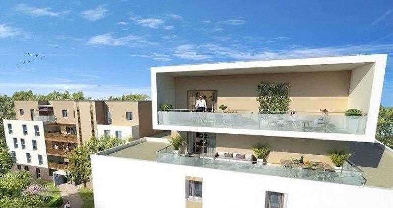Achat / Vente immobilier neuf Montpellier quartier ouest proche parc Montcalm (34000) - Réf. 1316