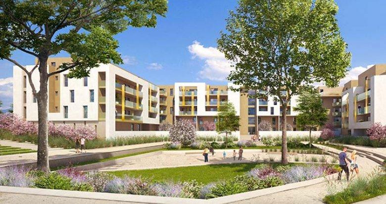 Achat / Vente immobilier neuf Montpellier quartier Ovalie (34000) - Réf. 1713