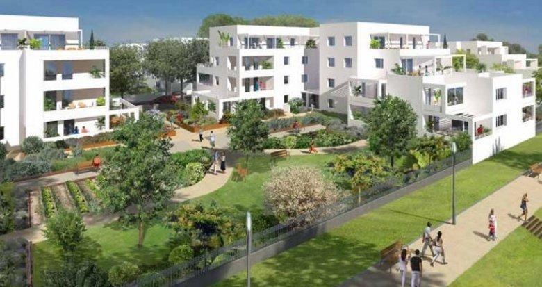 Achat / Vente immobilier neuf Montpellier quartier Ovalie (34000) - Réf. 1187