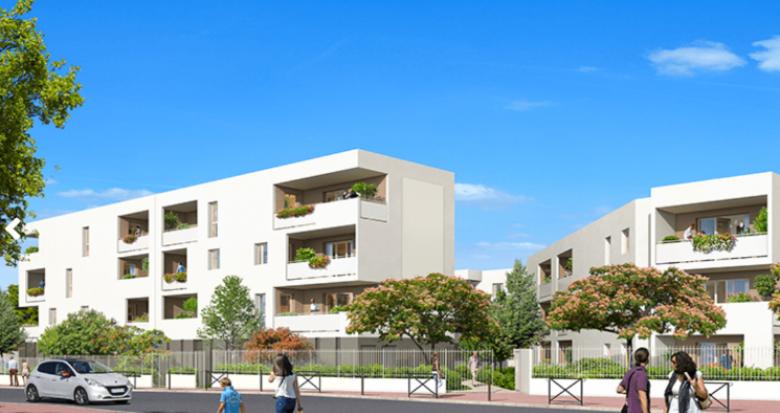Achat / Vente immobilier neuf Montpellier quartier Pergola Petit-Bard (34000) - Réf. 5291