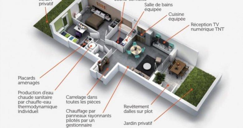 Achat / Vente immobilier neuf Montpellier quartier résidentiel de Marquerose (34000) - Réf. 919