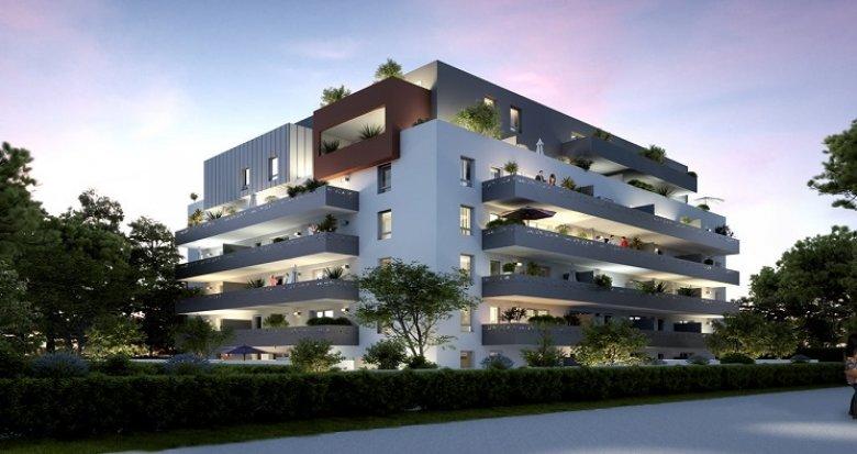 Achat / Vente immobilier neuf Montpellier quartier résidentiel Estanove (34000) - Réf. 1138