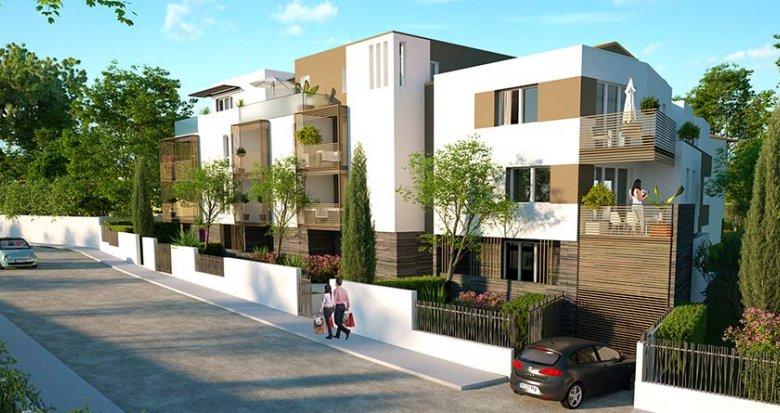 Achat / Vente immobilier neuf Montpellier quartier résidentiel vert (34000) - Réf. 1712