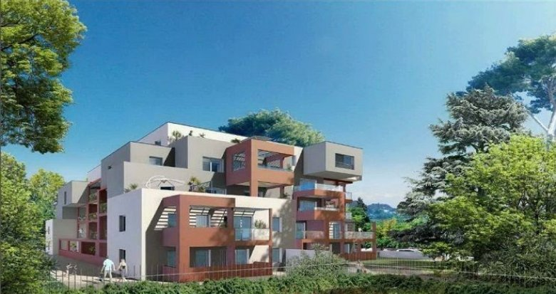 Achat / Vente immobilier neuf Montpellier résidence d'exception quartier Croix d'Argent (34000) - Réf. 1500