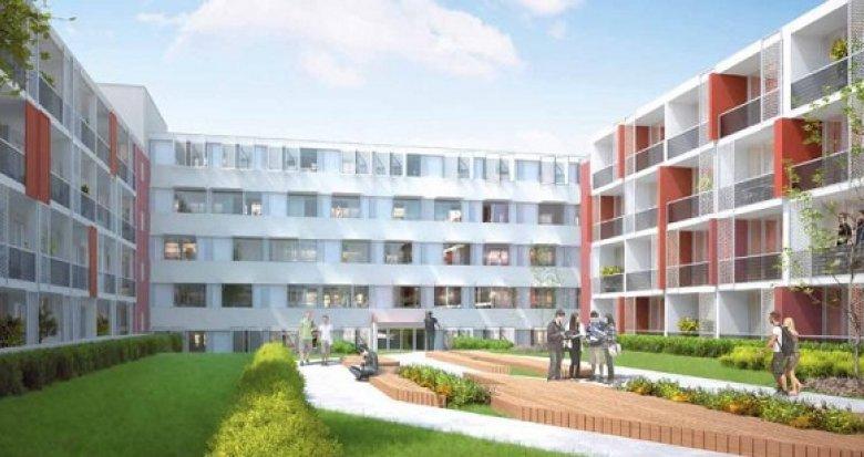 Achat / Vente immobilier neuf Montpellier résidence étudiante campus Paul Valéry (34000) - Réf. 2512