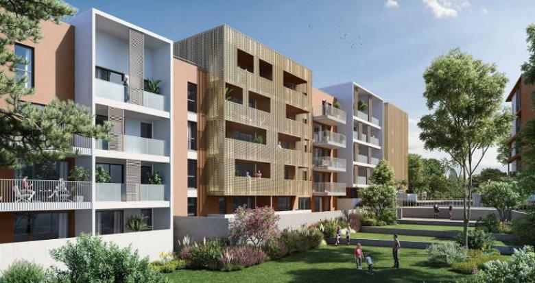 Achat / Vente immobilier neuf Montpellier secteur Euromedecine (34000) - Réf. 5493