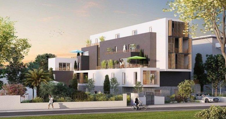 Achat / Vente immobilier neuf Montpellier un écrin de nature dans un environnement urbain (34000) - Réf. 2037