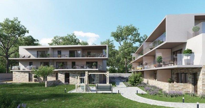 Achat / Vente immobilier neuf Montpellier une résidence intimiste dans un coin calme et vert à l'ouest de la ville (34000) - Réf. 653