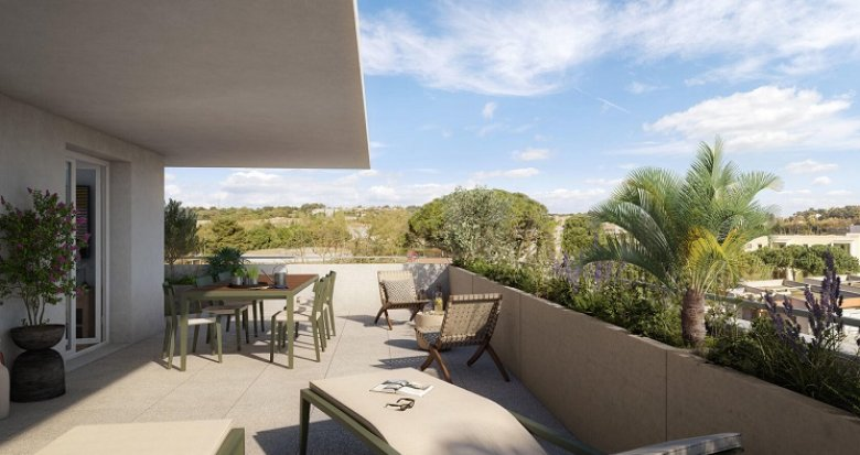 Achat / Vente immobilier neuf Montpellier village intime (34000) - Réf. 6027