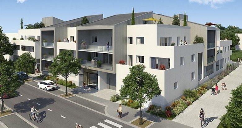 Achat / Vente immobilier neuf Saint-Brès esprit village et nature à 20 km de Montpellier (34670) - Réf. 634