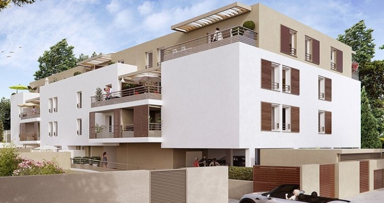 Achat / Vente immobilier neuf Saint Jean de Védas (34430) - Réf. 1869