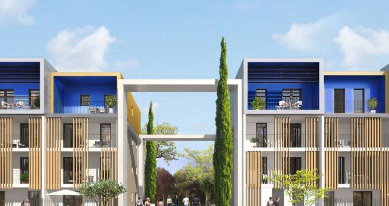 Achat / Vente immobilier neuf Saint-Jean-de-Védas éco-quartier de Roque Fraïse (34430) - Réf. 212