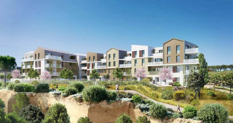 Achat / Vente immobilier neuf Saint-Jean de Védas face au Parc Peyrière (34430) - Réf. 2328