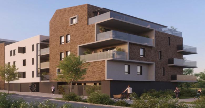 Achat / Vente immobilier neuf Saint-Jean-de-Védas proche parc de la Capoulière (34430) - Réf. 5033