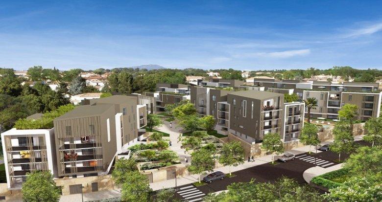 Achat / Vente immobilier neuf Saint-Jean-de-Védas quartier Roque Fraïsse (34430) - Réf. 679