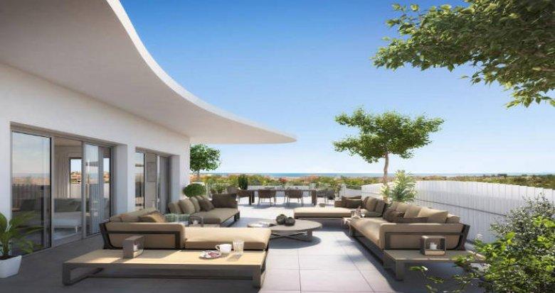 Achat / Vente immobilier neuf Sérignan entre ciel et mer (34410) - Réf. 5957