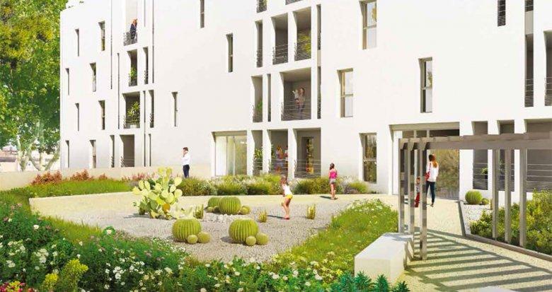 Achat / Vente immobilier neuf Sète au pied du mont Saint Clair (34200) - Réf. 709
